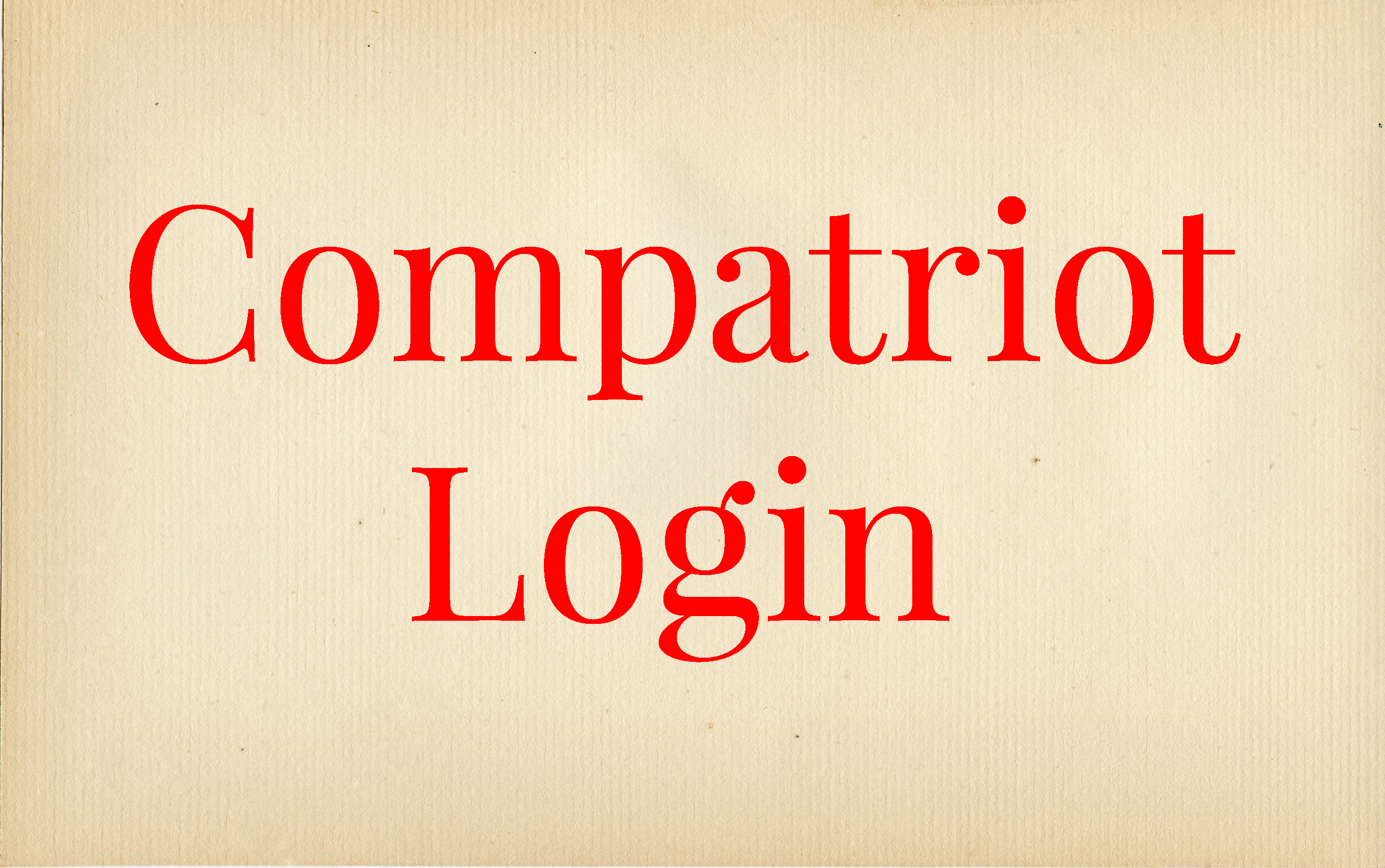 Compatriot Login