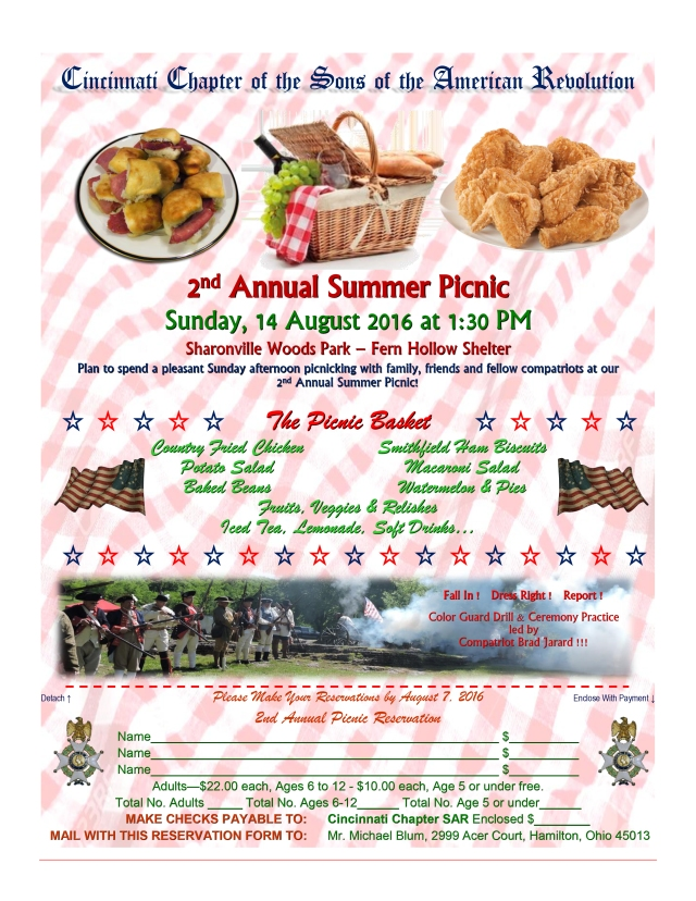 August Picnic 2016