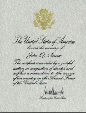 presidential-memorial-certificate
