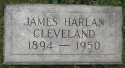 JamesHarlanCleveland-Headstone