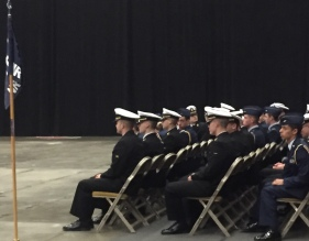 The cadet honorees