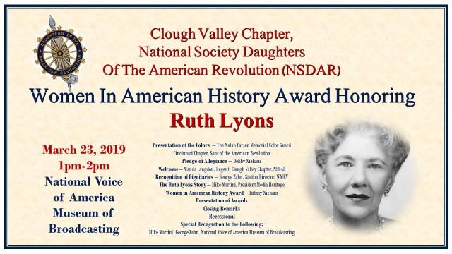 Ruth Lyons DAR