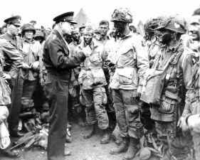 EISENHOWER PREPS TROOPS
